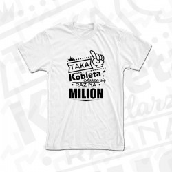 Kobieta jedna na milion